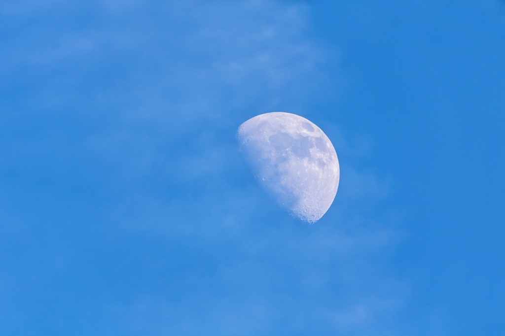 5 January - Morning moon